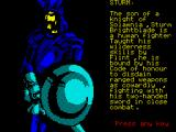 Heroes of the Lance ZX Spectrum Sturm