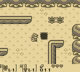 The Legend of Zelda: Link's Awakening Game Boy Hole in the ground