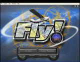 Fly! Windows The main menu screen, other game options are accessed via the menu bar.