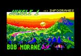 Bob Morane: Jungle 1 Amstrad CPC Title screen