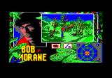 Bob Morane: Jungle 1 Amstrad CPC Gigantic spiders abound