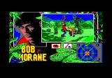 Bob Morane: Jungle 1 Amstrad CPC Bob doesn't get mad - he gets stabby