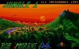 Bob Morane: Jungle 1 Atari ST Title screen