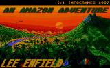 Bob Morane: Jungle 1 Atari ST UK title screen