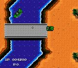 Jackal NES Destroy enemy boat!