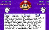 Mario Teaches Typing DOS Free practice (EGA, Tandy)