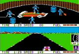 Pitstop II Apple II Into the pit