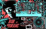 Bob Morane: Jungle 1 DOS The Inca temple is inexplicably infested with flying pointy thingies (CGA)