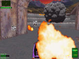Twisted Metal 2 Windows Rockets explosion