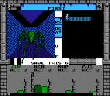 Swords and Serpents NES Spider