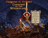 Dungeons of Dredmor: Conquest of the Wizardlands Windows Main menu.