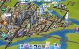SimCity Social Browser Visiting Don's city. Check out the Origin factory to the left.