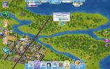 SimCity Social Browser Some interesting landmarks outside of the city's borders.