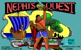 Nephi's Quest DOS Title screen
