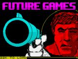 Future Games ZX Spectrum Title screen