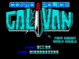 Galivan ZX Spectrum Title screen