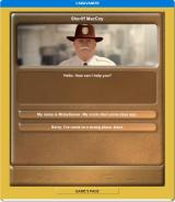 Caravaneer Browser Story mode - Asking the sheriff of news of dearly departed uncle.