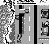 Aerostar Game Boy Some tanks attack me