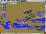 SimCity 2000 DOS Wind mills and prison