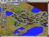 SimCity 2000 DOS Health is important - two hospital