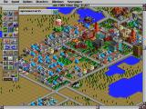 SimCity 2000 DOS Industrial district