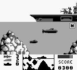 The Hunt for Red October Game Boy Little u-boat - fast enemy.