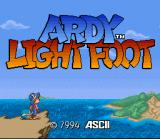 Ardy Lightfoot SNES Title screen
