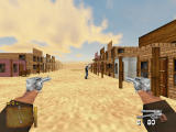 Guns and Spurs Windows FPS view