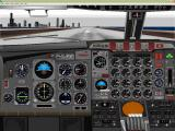 VIP Ultimate Classic Wings: The Collection Windows This is the instrument panel of the Boeing 720-047B variant. There is also a fuel panel and a light test panel.