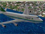 VIP Ultimate Classic Wings: The Collection Windows The Boeing 747-168B in Saudi livery