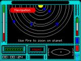 Ring Wars ZX Spectrum Solar system map