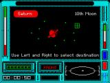 Ring Wars ZX Spectrum Saturn and moons