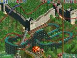 RollerCoaster Tycoon 2: Wacky Worlds Windows The Great Wall of China converted into a theme park