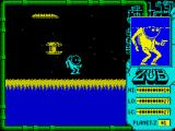 Zub ZX Spectrum Escape from enemy