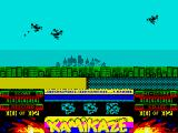 Kamikaze ZX Spectrum Enemy - front & behind