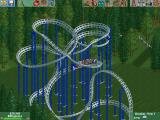 RollerCoaster Tycoon 2: Wacky Worlds Windows Crazy rollercoaster track designs are possible