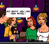 Buffy the Vampire Slayer Game Boy Color Story cut scene
