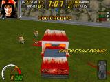 Carmageddon: Splat Pack DOS Taking the Bloodmobile out for a ride