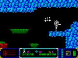 Poseidon: Planet Eleven ZX Spectrum Enemy teleports behind me