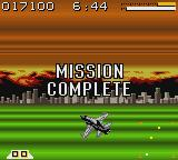AirForce Delta Game Boy Color Mission complete