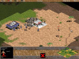 Age of Empires Windows archer shoots to enemy worker