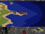 Age of Empires Windows Attack on enemy war machine
