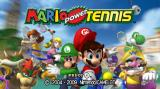 Mario Power Tennis Wii Title screen