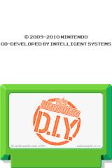 WarioWare: D.I.Y. Nintendo DS Title screen