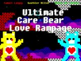 Ultimate Care Bear Love Rampage Windows Title screen and main menu