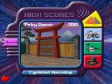 Saban's Power Rangers: Time Force Windows The game keeps a record of the player's score here