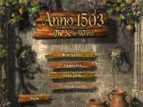 1503 A.D.: The New World Windows Main menu