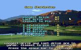 Jack Nicklaus' Unlimited Golf & Course Design DOS Game stats