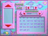When the player starts the game for the first time they are prompted for their name and age. The butterfly is present on every screen and is there to provide help
