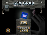 Gem Grab: Ultimate Edition iPad Title screen (iPad 2)